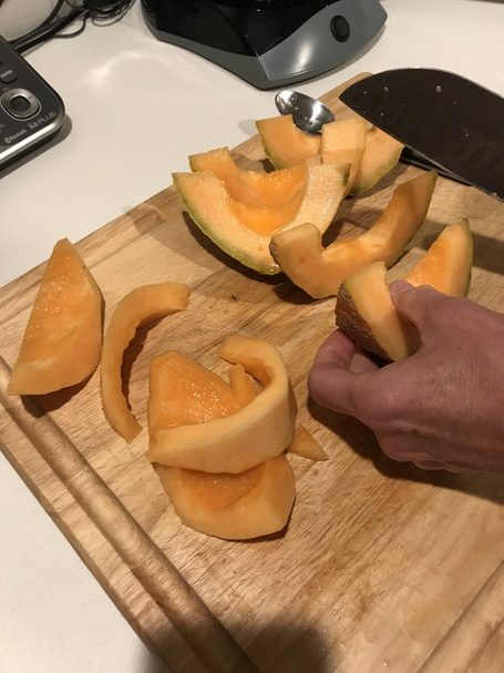 First Cantaloupe